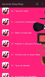 Aprende Maquillaje 1.7 Screenshots 6