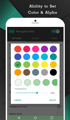 Navigation Bar (Back, Home, Recent Button) 2.1.4 Screenshots 3