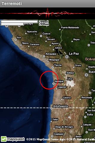 Terremoti ed alert  Screenshots 13