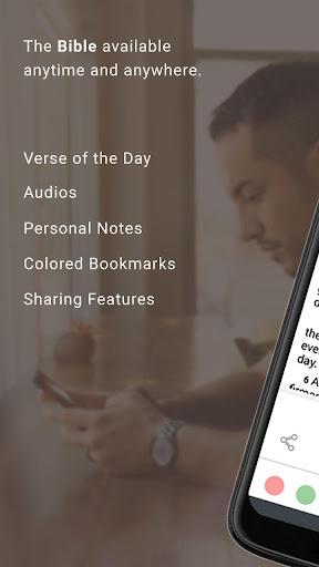 Bible Offline App Free + Audio, KJV, Daily Verse 8.5.4 Screenshots 1