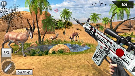 Wild Deer Hunt 2021: Animal Shooting Games apktram screenshots 15