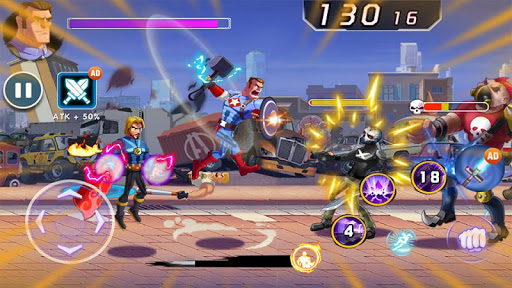 Captain Revenge - Fight Superheroes screenshots 1