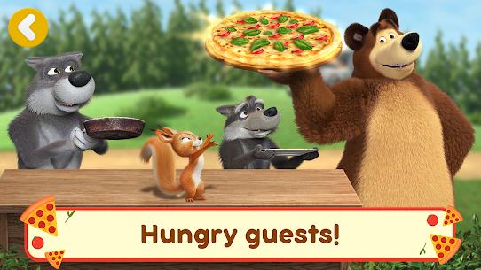 Masha and the Bear Pizzeria Game! APK MOD HACK 4