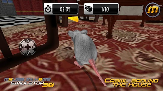 Mouse in Home Simulator 3D Mod Apk 2.9 (Unlimited Money, No Ads) 1