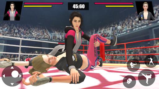 Women Wrestling Ring Battle: Ultimate action pack 7 pic 2
