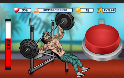 Iron Muscle 2 - Bodybuilding and Fitness game  screenshots 1