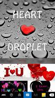 Droplet Love Keyboard Theme