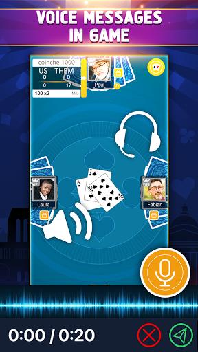 VIP Belote - French Belote Online Multiplayer Apkfinish screenshots 5