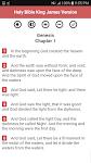screenshot of Holy Bible King James Version (Free)