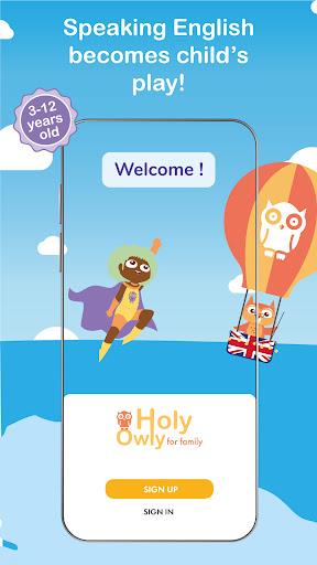 Holy Owly, English for children apklade screenshots 1
