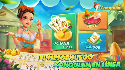 Conquian Zingplay: el mejor juego de cartas gratis screenshots 1