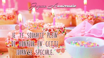 Happy Birthday Wishes Messages in French