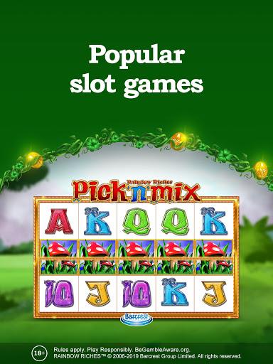 Rainbow Riches Casino: Slots, Roulette & Casino  screenshots 2
