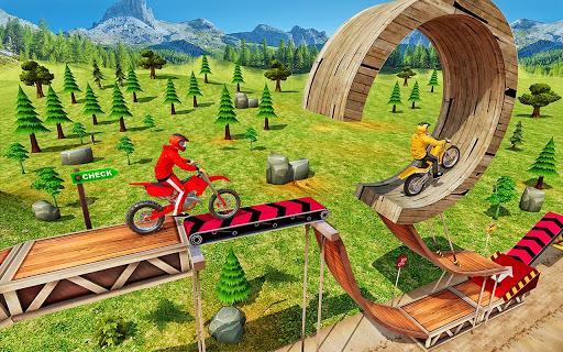Tricky Bike Stunt Racing Games 2021-Free Bike Game  screenshots 2