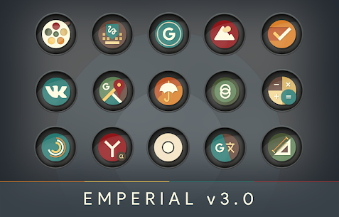 Emperial Circle Retro Icons v5.5 [Patched] 3