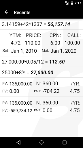 10bii Financial Calculator  screenshots 5