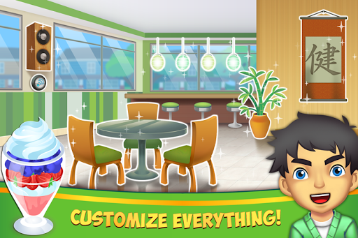 My Salad Bar - Healthy Food Shop Manager apkslow screenshots 2