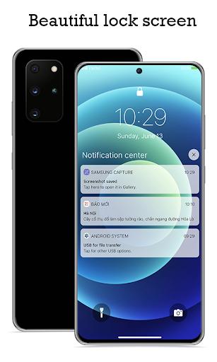 Lock Screen & Notification iOS14 android2mod screenshots 1