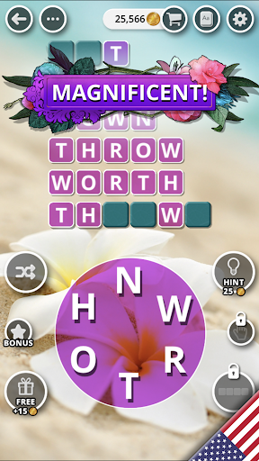 Bouquet of Words - Word game  screenshots 6