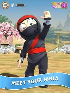 Tải Clumsy Ninja MOD APK 1.32.2 (Tiền / Vàng không giới hạn) 1