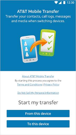 AT&T Mobile Transfer  screenshots 1
