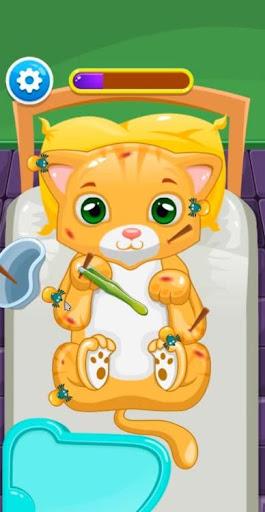 Little Cat Doctor Pet Vet Game screenshots 6