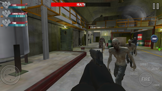 Real zombie Hunting- FPS shooting 2020 Screenshot