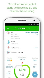 Diabetes  Diet Tracker Apk Download 1