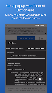 Look Up – A Pop Up Dictionary 3563 Apk 2
