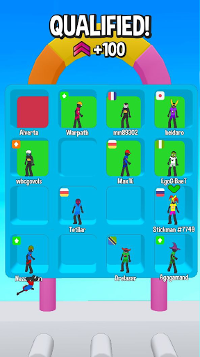 Stickman Fall | Running Stick Guys 3D Varies with device screenshots 6