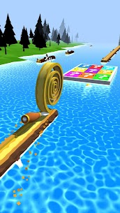 Spiral Roll Mod Apk (Shield Activated + Unlimited Money) 8