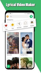 Lovely – Lyrical Video Status Maker – Video Maker App Download 2