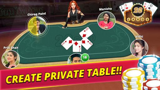 28 card multiplayer poker screenshot 2