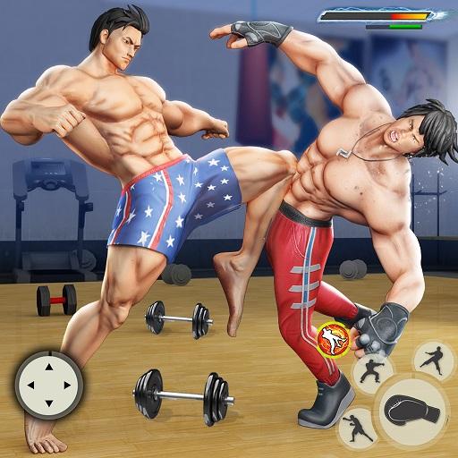 GYM Fighting Games: Bodybuilder Trainer Fight PRO