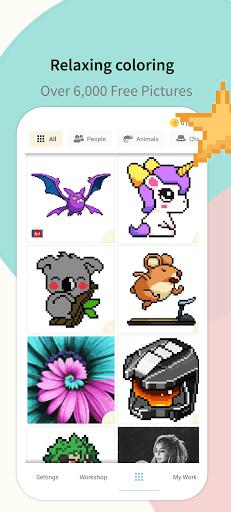 Pixel.Unicorn: Pixel Art Color By Number 11.0.0 screenshots 6