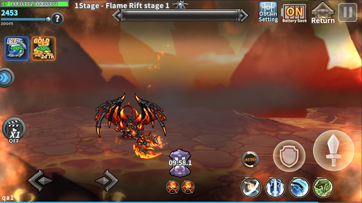 Raid the Dungeon : Idle RPG Heroes AFK or Tap Tap Apkfinish screenshots 16