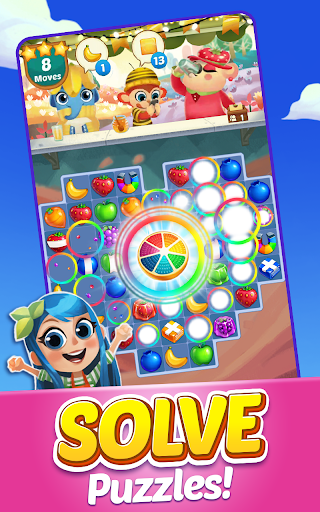 Juice Jam - Match 3 Games  screenshots 1