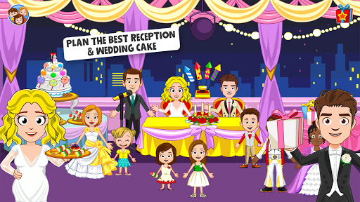 My Town: Wedding Day - The Wedding Game for Girls android2mod screenshots 1