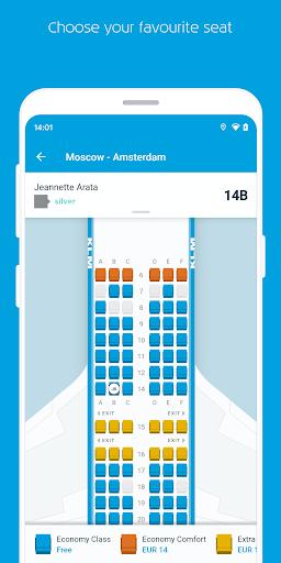 KLM u2013 Book flights and manage your trip screenshots 5