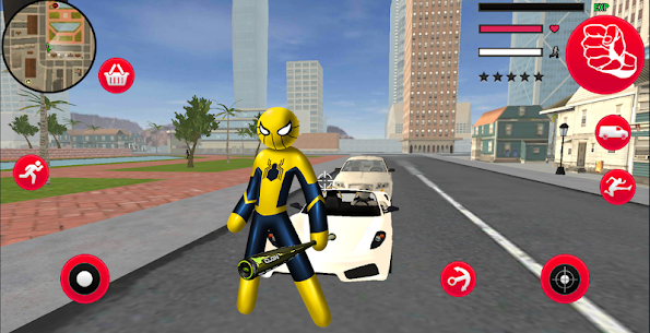 Mafia Spider Stickman Rope For Pc- Download And Install  (Windows 7, 8, 10 And Mac) 1