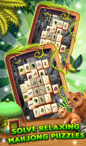 Mahjong Animal World - HD Mahjong Solitaire screenshots 3