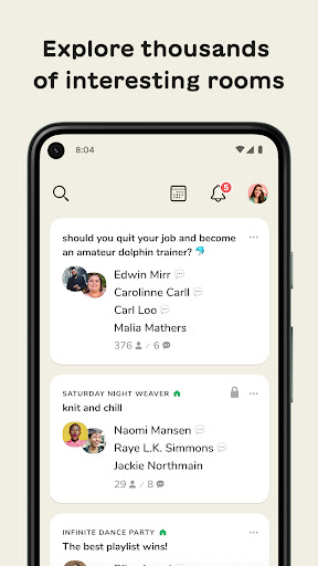 Clubhouse: The Social Audio App apktram screenshots 9