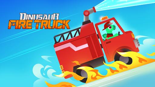 Dinosaur Fire Truck - Firefighter simulator games 1.0.1 screenshots 1