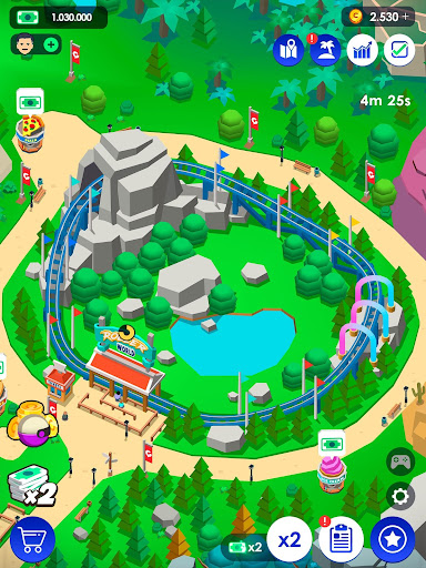 Idle Theme Park Tycoon - Recreation Game 2.4.2 Screenshots 11