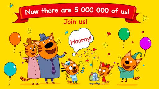 Kid-E-Cats Shopping Games for Kids! Three Kittens! apktreat screenshots 1