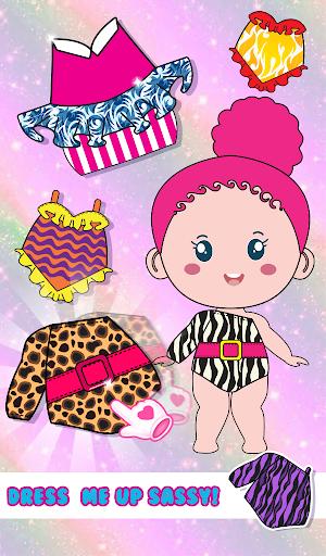 Chibbi dress up : Doll makeup games for girls 1.0.2 screenshots 7