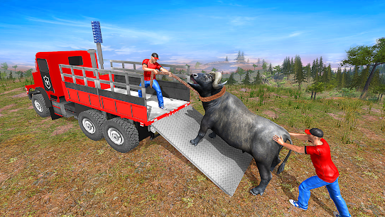 Farm Animals Transporter Truck Simulator :Wild Sim 1