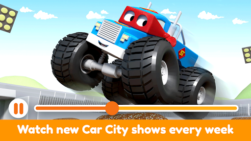 Car City World: Little Kids Play Watch TV & Learn modavailable screenshots 3