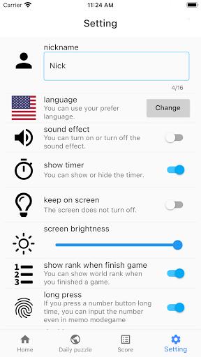 All Sudoku - 5 kinds of sudoku puzzle in one app screenshots 8
