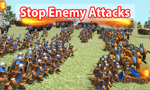 Medieval Wars: Hundred Years War 3D 2.1 screenshots 6